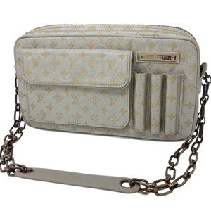 Louis Vuitton Mini Lin Metallic Gold Shine Mckenna